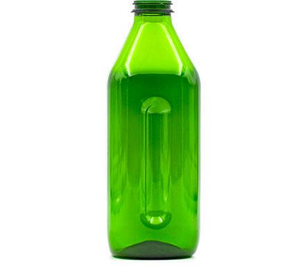 Produzione bottiglie in plastica e PET - 611-verde