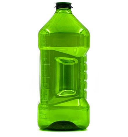 Produzione bottiglie in plastica e PET - 631-2-verde