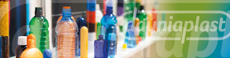 Produzione preforme e bottiglie in plastica e PET - testata contatti