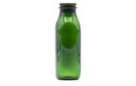 Produzione bottiglie in plastica e PET - 619-verde