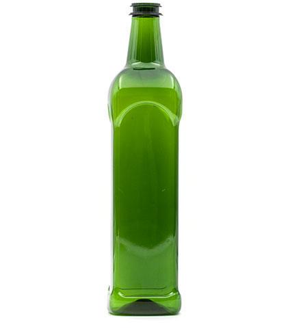 Produzione bottiglie in plastica e PET - 651-verde
