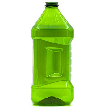 Produzione bottiglie in plastica e PET - 656-verde